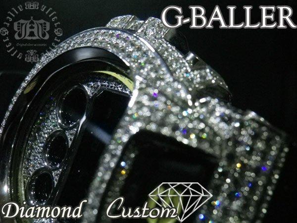 画像4: G-SHOCK CUSTOM G,B69 天然Diamond Inside Parts 0.68ct DiamondSeries