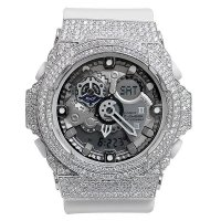 Casio G-Shock Custom by G-BALLER | GA-300 Rhodium Coating Diamond