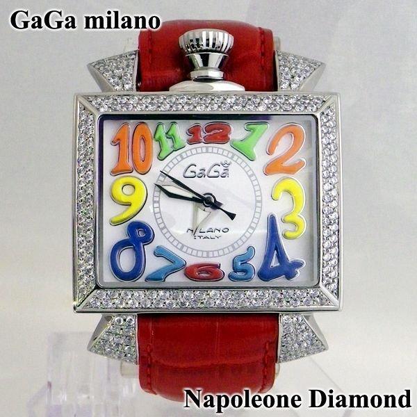 画像1: ガガミラノ GaGa milano ナポレオーネ 48mm ダイヤ メンズ ダイヤモンド