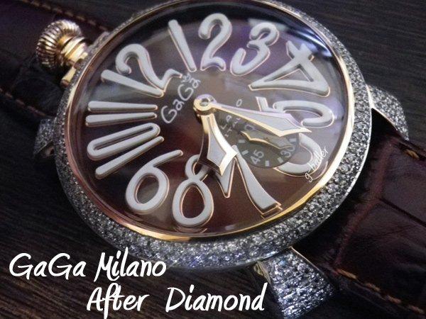 画像4: ガガミラノ GaGa MILANO アフターダイヤ MANUALE フルダイヤ  gaga時計ダイヤ
