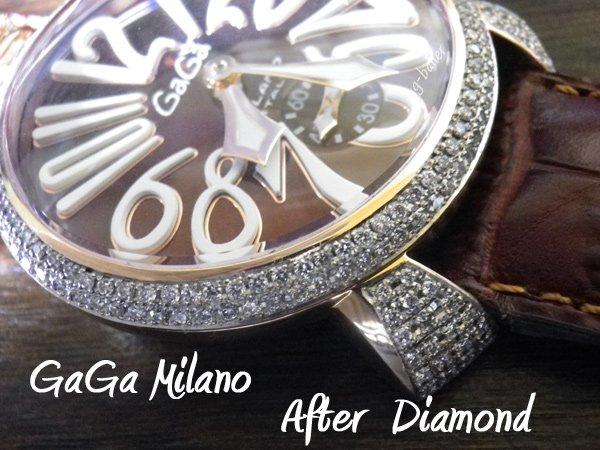 画像3: ガガミラノ GaGa MILANO アフターダイヤ MANUALE フルダイヤ  gaga時計ダイヤ