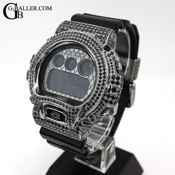G-SHOCKカスタム ブラッククロコ フルカスタム ダイヤモンド