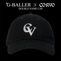 G-BALLER x CORVO ダブルネーム コラボ コットンCAP