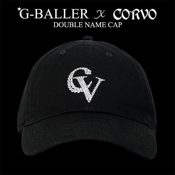 G-BALLER CORVO ダブルネーム スワロコットンCAP