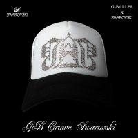 スワロフスキー GB クラウン キャップ G-BALLER スワロ キャップ オリジナル スワロフスキーCAP