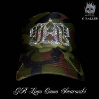 Gb CROWN LOGO CAP Camo GBクラウン迷彩CAP