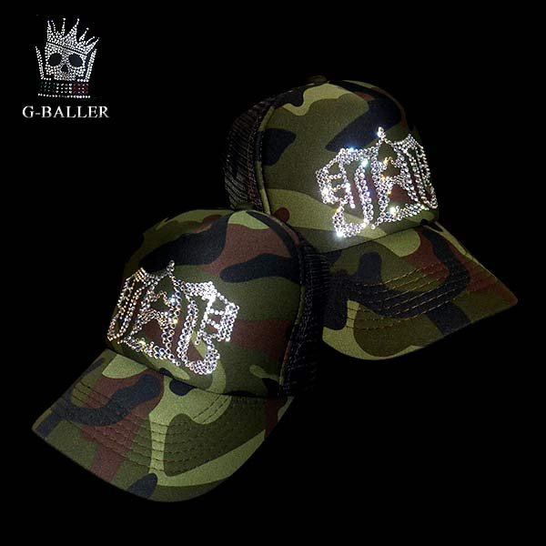 画像2: Gb CROWN LOGO CAP Camo GBクラウン迷彩CAP