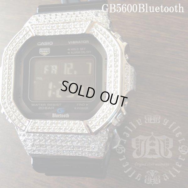 画像4: GB5600aa Black レア カスタム 本体セット!! WHITE DIAMOND Gショックカスタム GB BLUETOOTH カスタム 世界初のブルートゥース G-SHOCKカスタム!