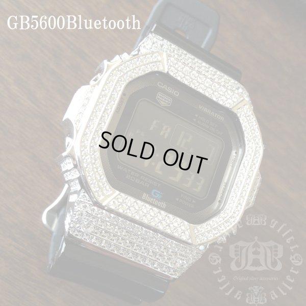 画像2: GB5600aa Black レア カスタム 本体セット!! WHITE DIAMOND Gショックカスタム GB BLUETOOTH カスタム 世界初のブルートゥース G-SHOCKカスタム!