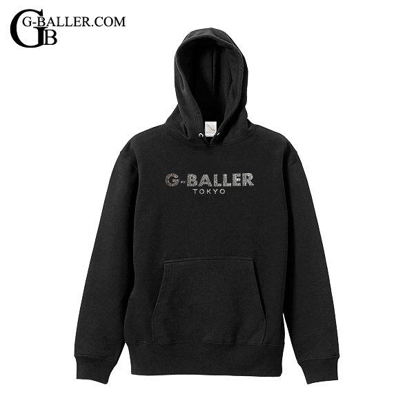 画像1: G-BALLER TOKYO スワロパーカー BLACK プルオーバー