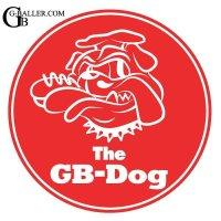 The GB-Dog(ジービードッグ) オリジナル ステッカー 2枚セット