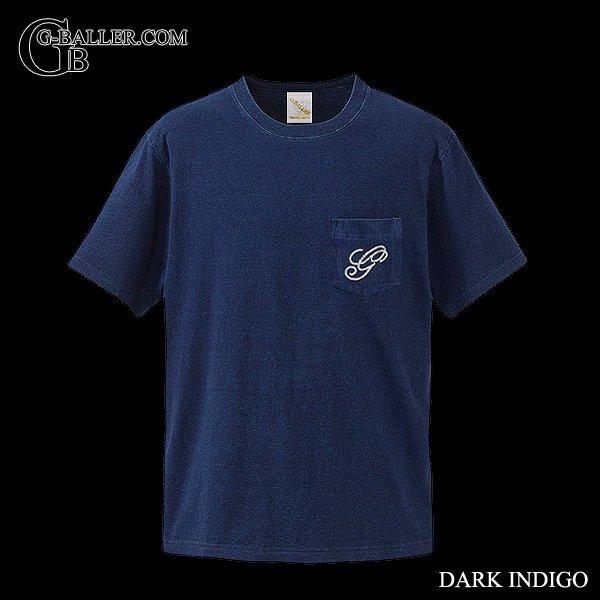 インディゴデニムのスワロTシャツ