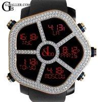 ジェイコブゴーストアフターダイヤ | 18KPG ベゼルダイヤモンド JACOB&Co.時計