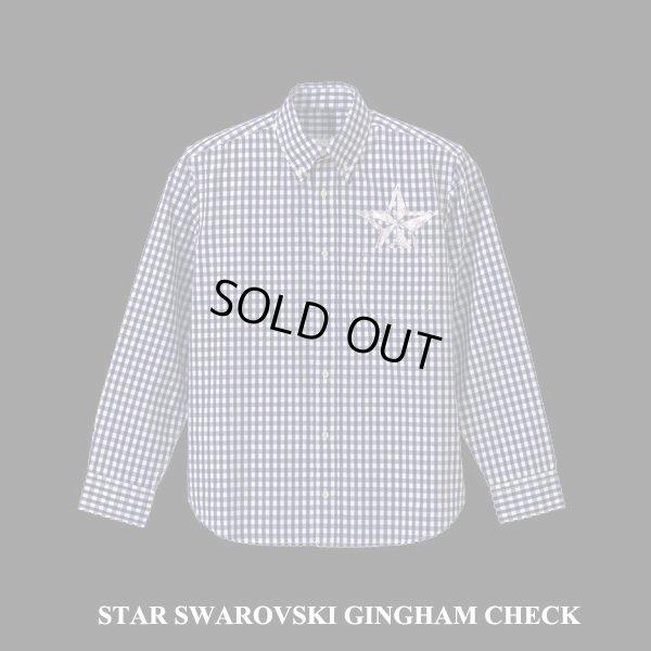 画像3: BUONA SERA ギンガムチェック STAR スワロ シャツ 3カラー