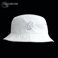 Initial  Buckethat/イニシャル バケットハット(White)