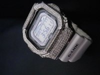 G-SHOCK G-LIDE5600 GLX5600 ダイアモンド CZ ホワイトカスタム  ユニセックス カラー 多数 サーファーや、マリンスポーツ 人気商品 オシャレ時計 津波感知 波予想 ダイバーズモデル