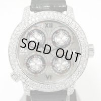 Jacob & Co. World GMT Pave Diamond 3ss Limited Model