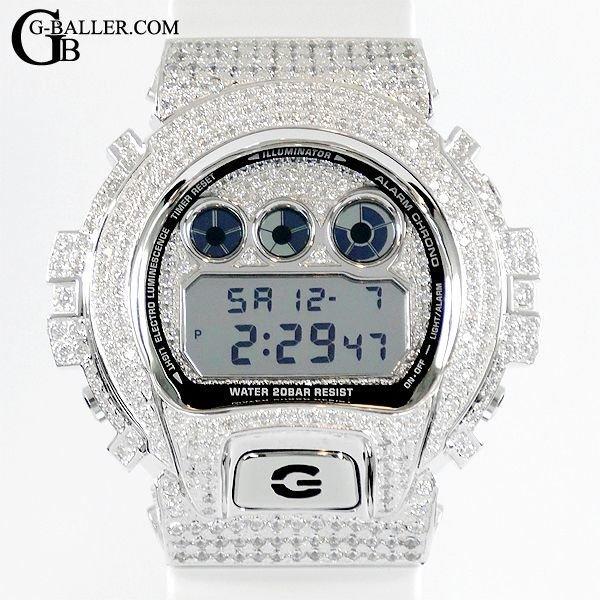 Gショックカスタム ダイヤ 防水仕様となります。