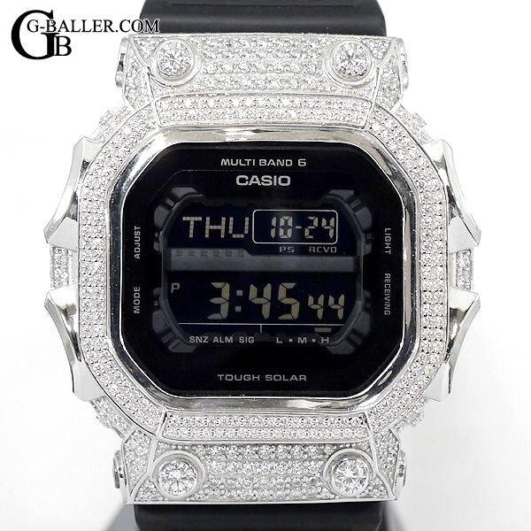 G-SHOCKカスタム GXW56BB ダイヤモンド パヴェ