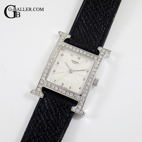 エルメス Hウォッチ HH1.210 ダイヤモンド