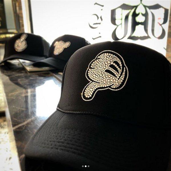 ハンドサイン デコキャップ 帽子