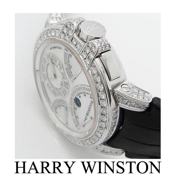 HARRY WINSTON時計 アフターダイヤ加工