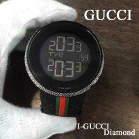 GUCCI アイグッチ ブラックPVD ダイヤモンド