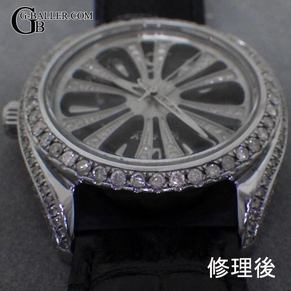 時計に留められた宝石が取れてしまった場合はお任せ下さい。