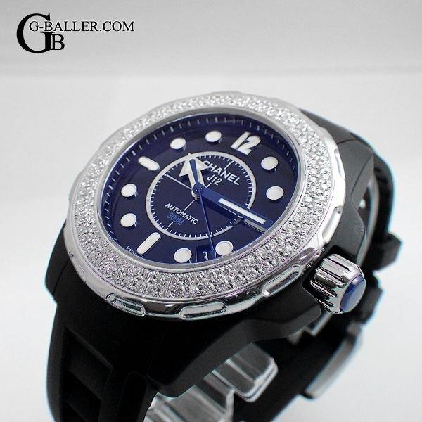 CHANEL J12 マリーン ブラック ダイヤモンド