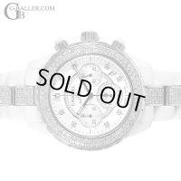 シャネル Chanel J12 Chronograph 9P Diamond Index Full Diamond