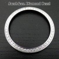 5タイムゾーン アフターダイヤベゼル 47mm用 JACOB&COカスタム