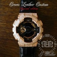 "カシオ Casio G-Shock Custom Diamond / ""Leather Complete RG GA-110"""