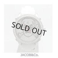 ジェイコブ/JACOB&Co. 5タイムゾーン スカルダイヤ 40mm