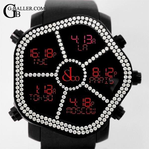 ジェイコブ時計 ゴースト ベゼルダイヤモンド