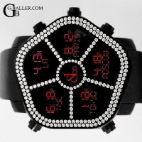 ゴースト 5タイムゾーン 2列 ベゼルダイヤモンド JACOB時計