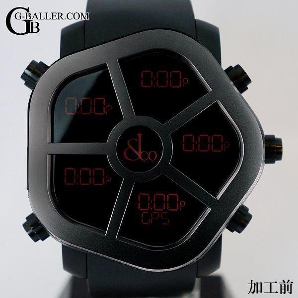 JACOB時計のアフターダイヤカスタム