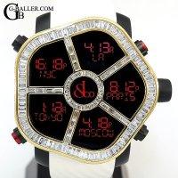ジェイコブアフターダイヤ | ゴースト 18KYG バゲットダイヤベゼル JACOB&Co.時計
