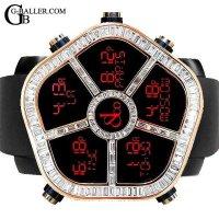 ジェイコブゴースト 18KPG バゲットダイヤベゼル JACOB&Co.時計