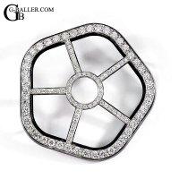 ゴースト用 ダイヤモンドベゼル 約3.5ct 新品未使用