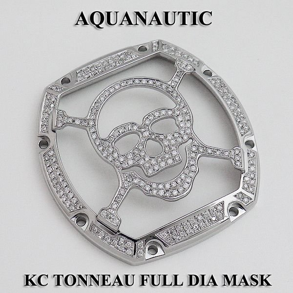 画像4: アクアノウティック キングクロノ KCトノー スカルマスク フルダイヤ
