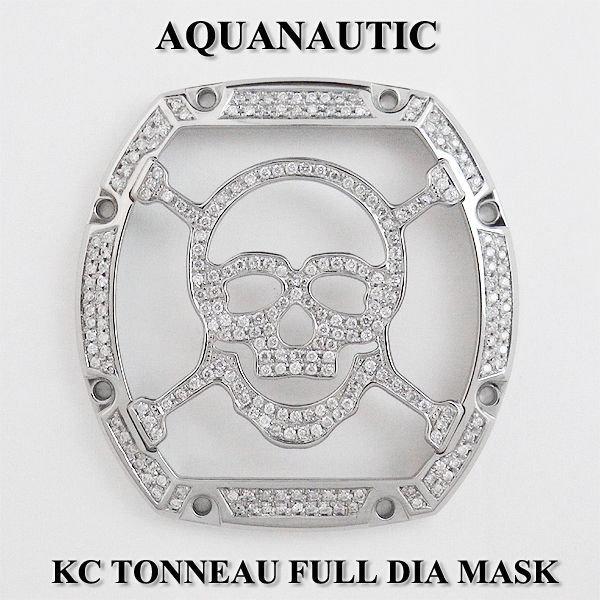 画像1: アクアノウティック キングクロノ KCトノー スカルマスク フルダイヤ
