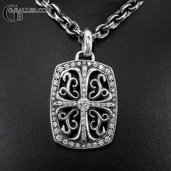 クロムハーツ キーパーペンダント ダイヤモンド