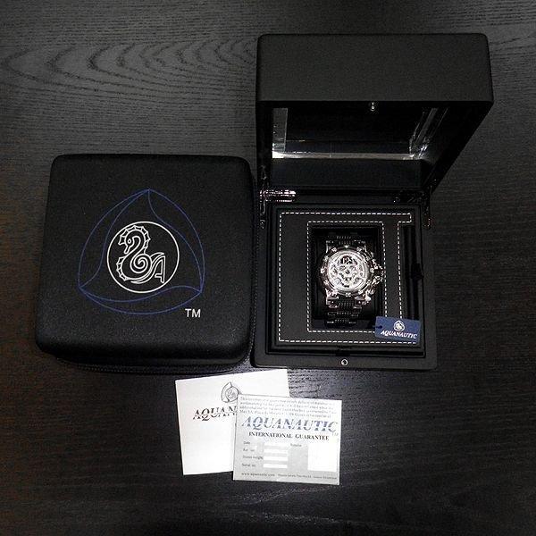 画像5: アクアノウティック  ダイヤ キングサブクロノ スケルトン フルダイヤモンド スカルマスク