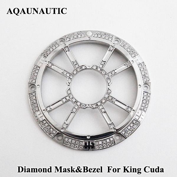 画像1: アクアノウティック  ダイヤマスク キングクーダ用 交換用 ダイヤモンド ベゼル