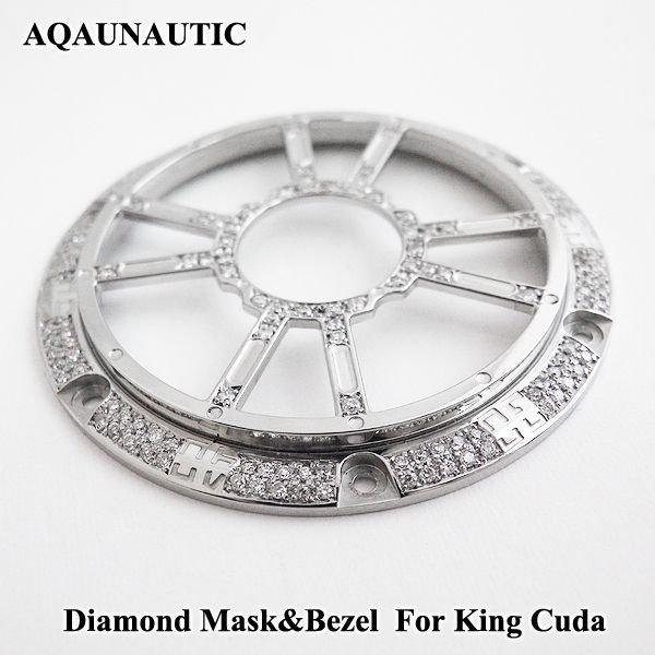 画像3: アクアノウティック  ダイヤマスク キングクーダ用 交換用 ダイヤモンド ベゼル