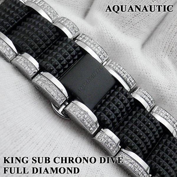 画像3: アクアノウティック  ダイヤ キングサブクロノ スカルトンI ダイヤモンド