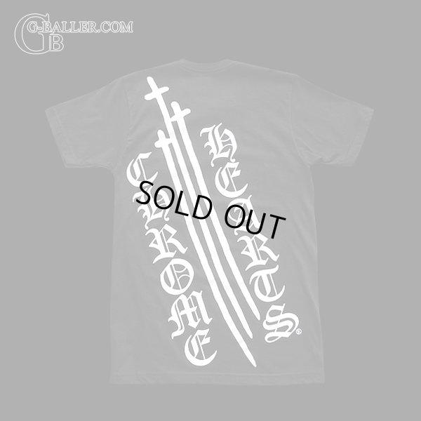 画像2: クロムハーツ クロス Tシャツ 黒 正規品
