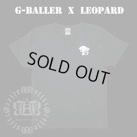 G-BALLER レオパード プリント Tシャツ ヒョウ オリジナル 半袖
