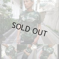 ブランド カモフラ Tシャツ G-BALLER(Print) 半袖 アーミーコマンド