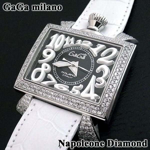 画像2: ガガミラノ 時計 ナポレオーネ 48mm ダイヤ GaGa MILANO 正規品